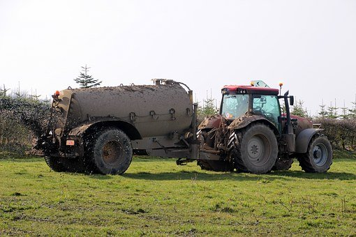Güllefaß, Gülle, Liquid Manure, Tractor, Distribute