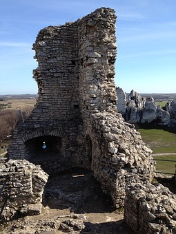 Ogrodzieniec, Castle, The Ruins Of The, History