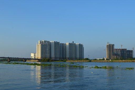 Kochi, India, Kerala, Backwaters, Apartment