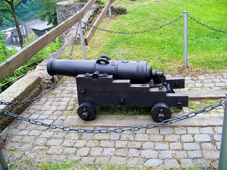 Gun, Metal, Weapon, Barrel Of A Gun, Well, Defense