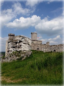 Ogrodzieniec, Poland, Castle, The Ruins Of The