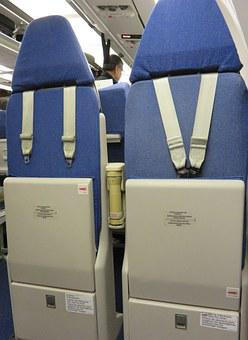 Jump, Seat, Jump Seat, Airplane, Commercial, Airliner