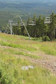 Ski Run, Landscape, Mountains, Highlands, Braunlage