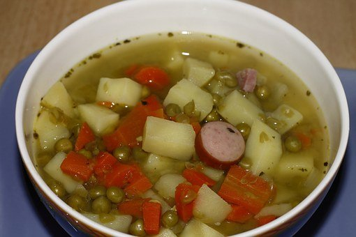 Pea Soup, Soup, Stew, Substantial, Food, Feed