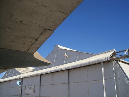 Tailplane, Underside, Hanger, Air Force, Wing