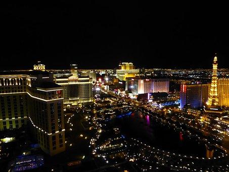 Vegas, Strip, Night Sky, Las Vegas, Gambling, Nevada