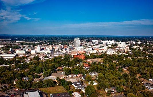 Montgomery, Alabama, City, Cities, Urban, Aerial View