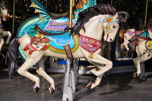 Merry-go-round, Fairs, Horse, Amusement, Parks