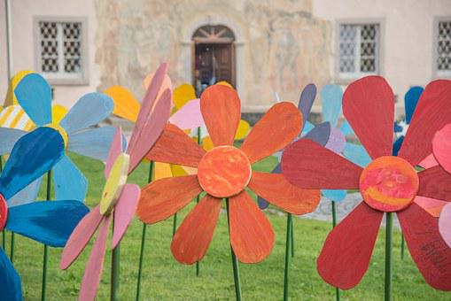 Garden, Flowers, Art, Deco, Decoration, Jewellery