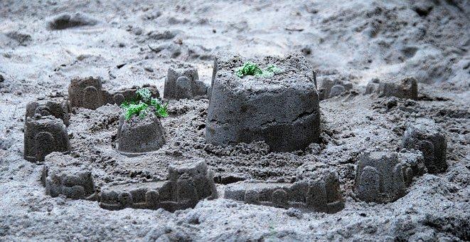Sand, Playground, Sandcastle, Fun, Play, Childhood