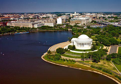 Washington Dc, C, City, Cities, Urban, Aerial View