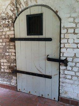 Door, Gate, Wood Door, Architecture, Entrance, Old