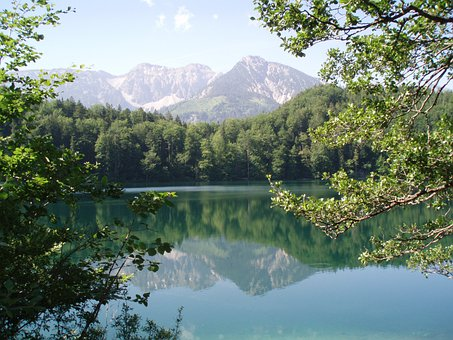 Valley Within The Meaning Of, Alatsee, Füssen, Summer