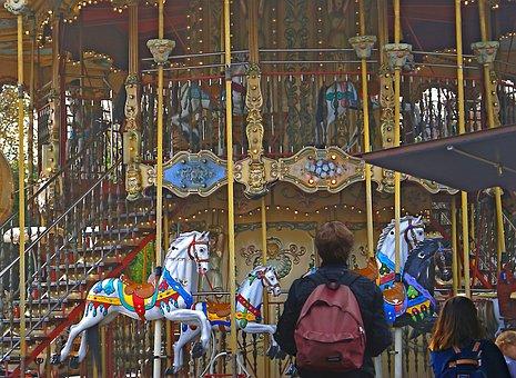 Carousel, Vortex, Fun, Entertainment