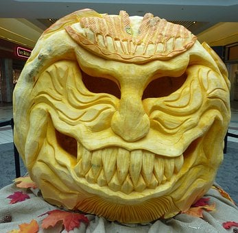 Pumpkin, Autumn, October, Pumpkins, Halloween, Lantern