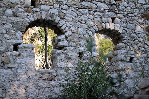 Old Castle, Wall, Old, Castle, Architecture, Stone