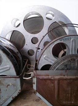 Movies, Film, Old, Reel