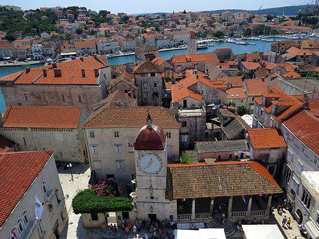 Old Town, Panorama, Monuments, City, Townhouses