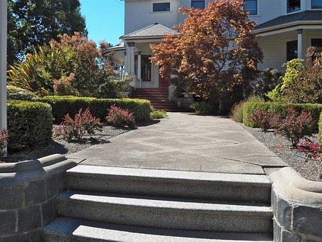 Pathway, Walkway, Front Yard, Path, Outdoor, Landscape