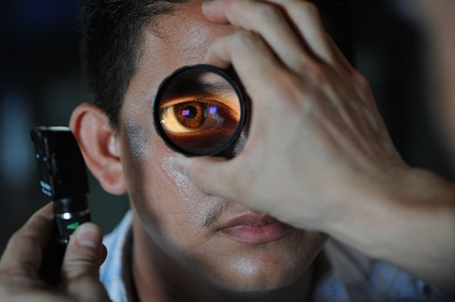 Optometrist, Doctor, Patient, Eye, Exam, Examination