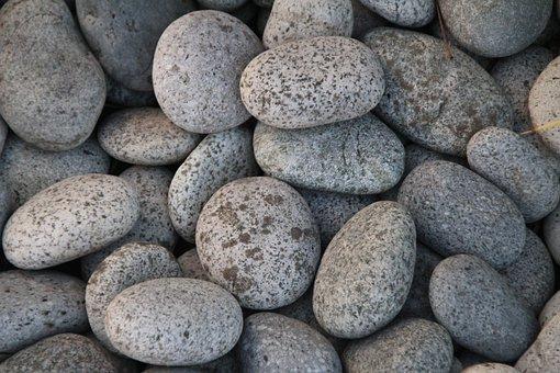 Stones, Beach, Pebbles, Plump, Steinig, Water, Pebble