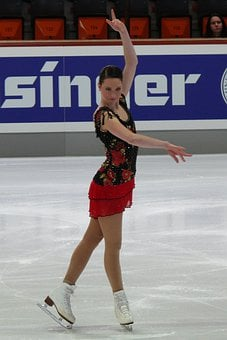 Sarah Hecken, Skater, Rink, Figure, Lady, Girl, Skating