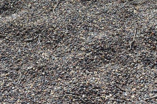 Gravel, Pebbles, Stone, Background, Texture, Nature
