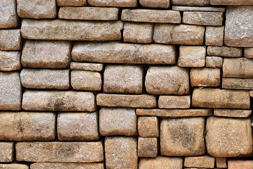 Old, Stone Wall, Wall, Background, Backdrop, Closeup
