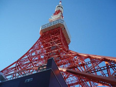 Tokyo Tower, Tower, Japan