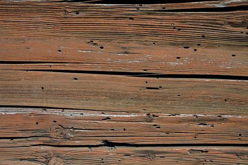 Texture, Wood Grain, Weathered, Washed Off