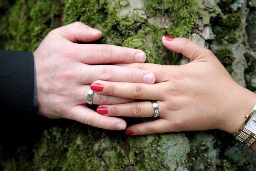 Wedding, Wedding Ring, Love, Marriage, Church, Tree