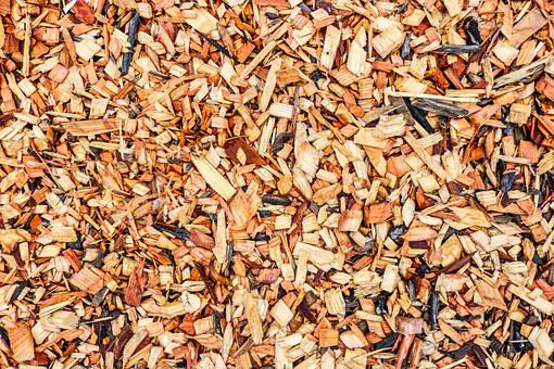 Wood Chips, Landscape, Wood, Nature, Garden, Gardening