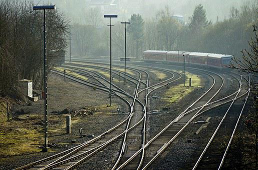Railways, Routes Tracks, Sidings, Yield, Curve