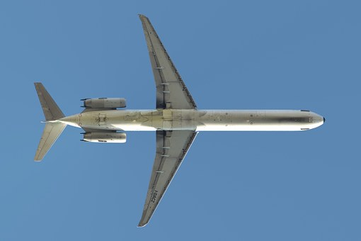 Airliner, Aircraft, Alitalia, Mcdonnell Douglas, Md 82