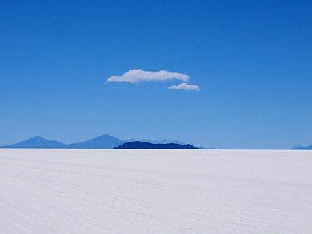 Bolivia, Salt Flat, America, Altiplano, Andes