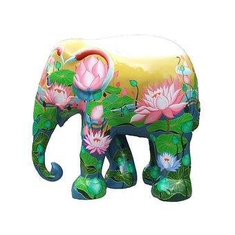 Elephant Parade Trier, Elephant, Art