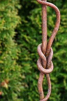 Knot, Rope, Wrought Iron, Metal, Art, Iron, Ornament