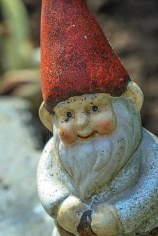 Garden Gnome, Brownie, Ornament, Garden, Yard