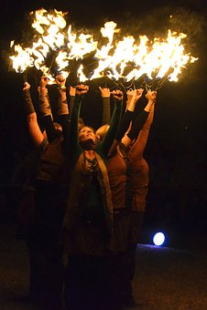 Fire Dance, Celtic Festival, Celtic Entertainment