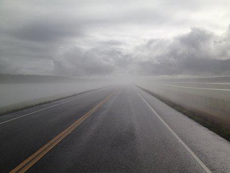 Cloud, Rain, Drive, Challenge, Rainy