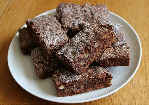 Chocolate Brownies, Brownies, Cake, Food, Dessert