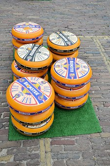 Cheese, Market, Edam, Holland, Tradition, Culture