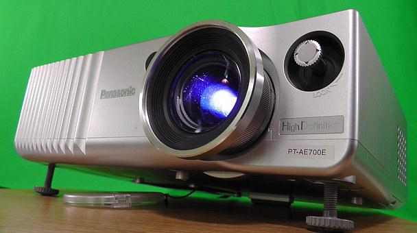 Projector, Video, Projection, Film, Canvas, Home Movies