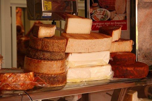 Cheese, Cheese Counter, Market, Food, Milk, Frisch