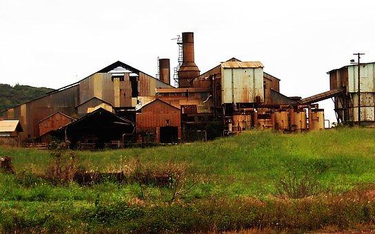 Hawaii, Kauai, Sugar Mill, Abandoned, Sugarcane, Cane