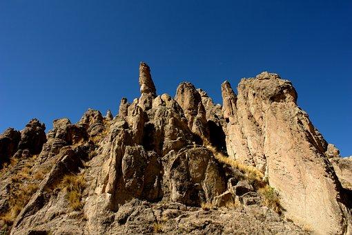 Travel, Tourism, Salar Uyuni, Rock, Holiday, Desert