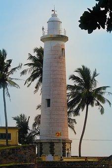 Lighthouse, Sea, Ocean, Travel, Water, Blue, Beach