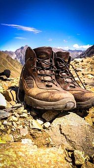 Hiking, Hiking Shoes, Shoes, Hike, Mountaineering Shoes