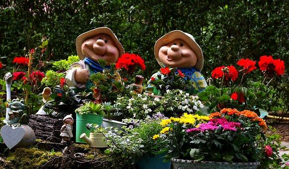 Garden, Flowers, Summer, Figures, Summer Plant, Nature