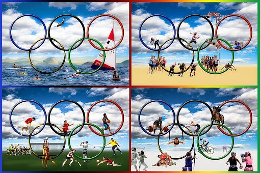 Olympia, Olympiad, Olympic Games, Olympic Rings, Rings